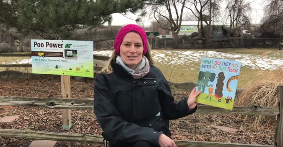 Rachel, Detroit Zoological Society reads What Do They Do with all that Poo?